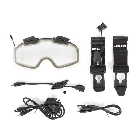 CKX Electric 210° Goggles Lens with Adjustable Ventilation & Accessories 210° Titan Double, Electric Men, (Womens Electric Goggles)
