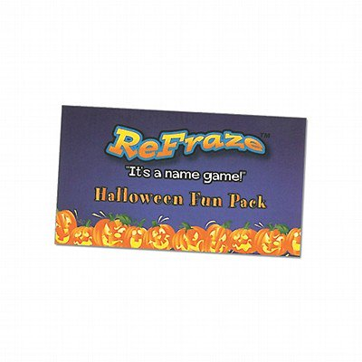 ReFraze Fun Pack Halloween Edition Card - Fun Cheap Halloween Games