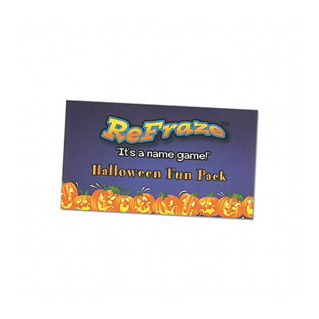 ReFraze Fun Pack Halloween Edition Card Game - Halloween Color Pages Games