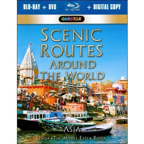 Scenic Routes Around The World: Asia (Blu-ray + Standard DVD) (Widescreen)