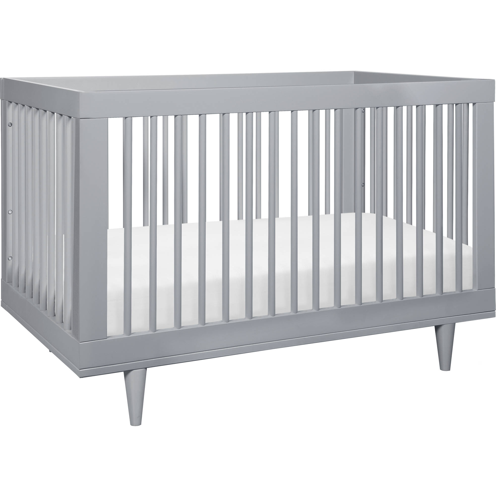 Baby Mod Marley 3-in-1 Convertible Crib Gray