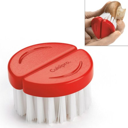 - Flexible Mushroom Cleaning Brush (red) - 747319 By Cuisipro Ship from