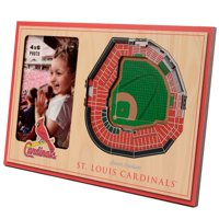 St. Louis Cardinals 3D StadiumViews Picture Frame - Brown