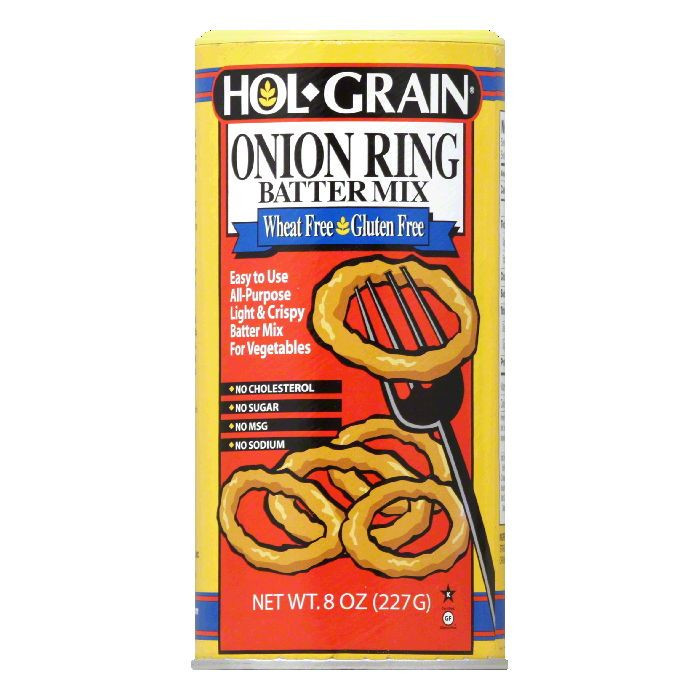 Conrad Rice Mill Hol Grain  Batter Mix, 8 oz