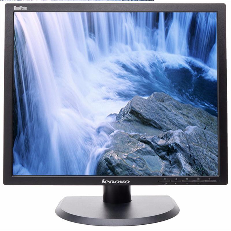 "Refurbished LENOVO LT1913PA 1280 x 1024 Resolution 19"" LCD Flat Panel Computer Monitor Display"
