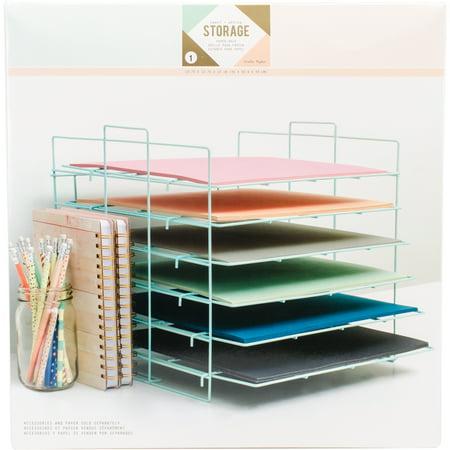 Desktop Storage Paper Rack ()