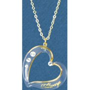Glass Baron Crystal Heart Always Necklace Designer Jewelry by Sweet Pea