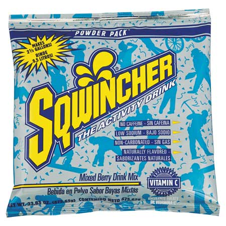 SQWINCHER 016048-MB Sports Drink Mix,Mixed Berry