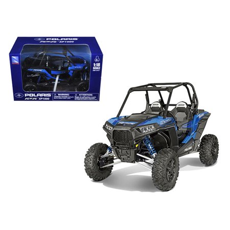 - Polaris RZR XP 1000 Dune Buggy Woodoo Blue 1/18 Model by New Ray