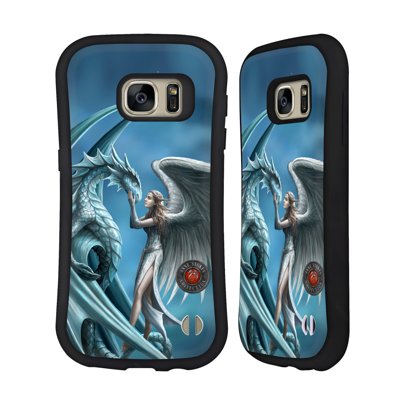 OFFICIAL ANNE STOKES DRAGON FRIENDSHIP HYBRID CASE FOR SAMSUNG PHONES