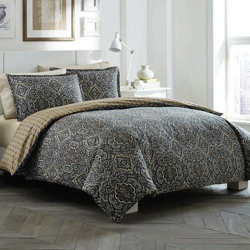 City Scene Milan Reversible Comforter Set