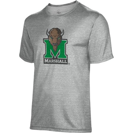 Marshall University - Spectrum Sublimation Unisex Marshall University Poly Cotton Tee