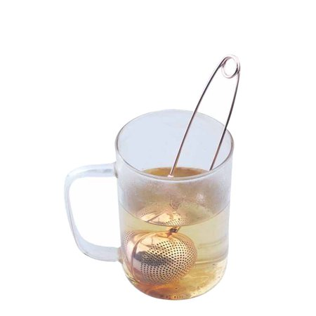 Ustyle Mesh Snap Ball Loose Leaf Tea Infuser Stainless Steel Secure Locking Tea Strainer Cooking Seasoning Spices Filter - image 3 de 7
