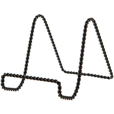 """Metal Easel Display Stand 6""""-Black"""