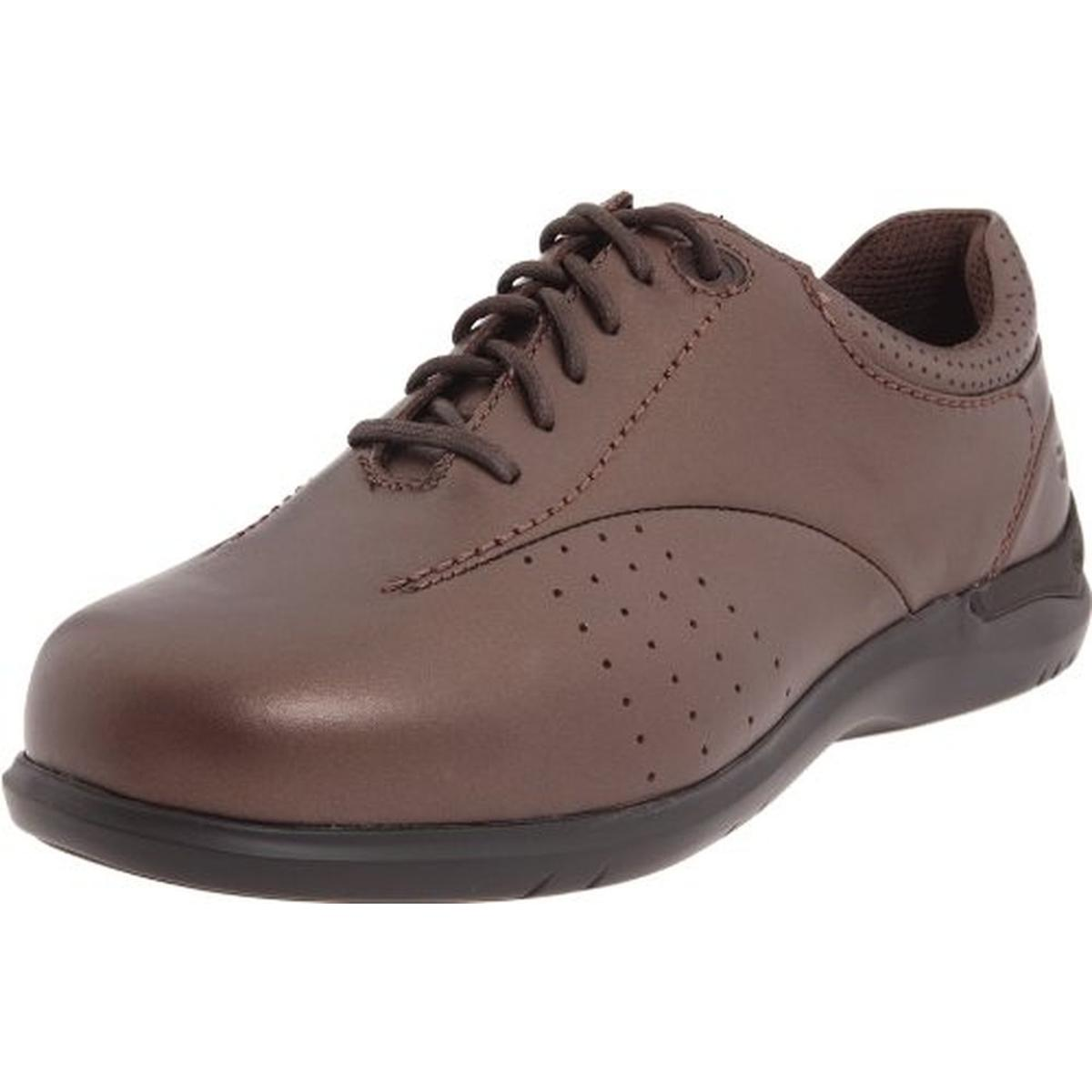 Aravon Womens Farren Leather Casual Oxfords