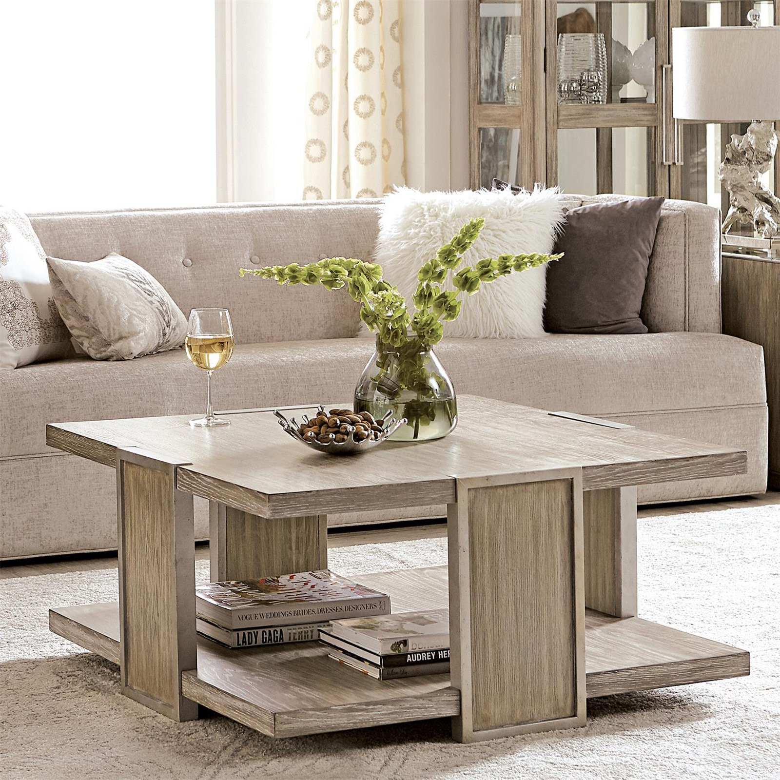 Riverside Furniture Sophie Square Coffee Table