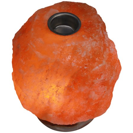 Rock Oil Lamp - Himalayan Rock Salt Natural Oil Heating Lamp, 7