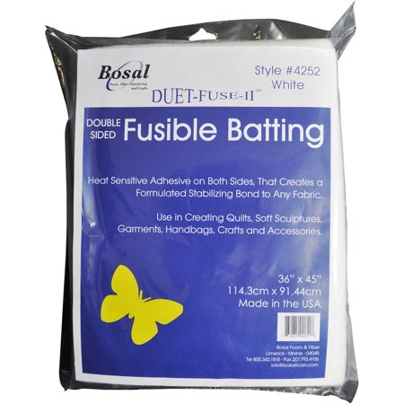 Duet Fuse Ii Double Sided Fusible Batting 36 Quot X 45