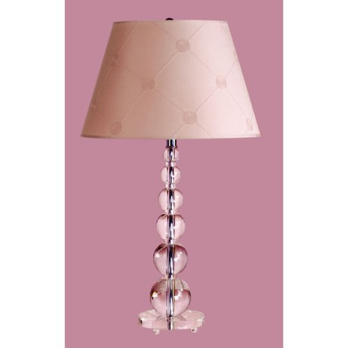 Laura Ashley Lucille Chalk Pink Barrel Lamp Shade