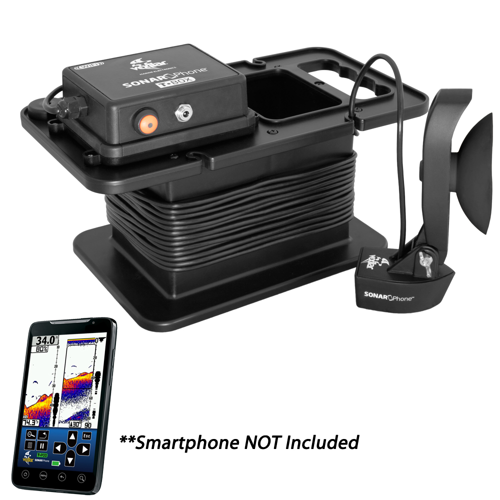Vexilar T-Box SmartPhone Fish Finder with Portable Case, SP300