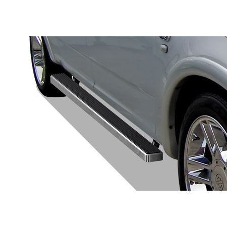 Ford F150 Supercrew Cab - iBoard Running Board For Ford F-150 SuperCrew Cab 4 Full Size Door