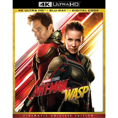 Ant-Man and the Wasp (Cinematic Universe Edition) (4K Ultra HD + Blu-ray + (Ant Man Vol 1 Second Chance Man)