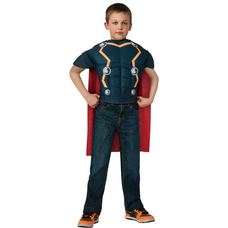Thor Top Child Halloween Costume, One Size, 8-10