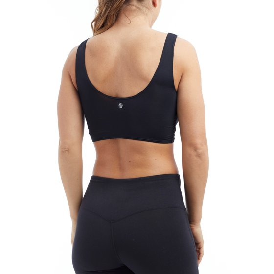 111cb115bd Bally Total Fitness - Bally Women s Active Lucy Lace Front Sport Bra ...