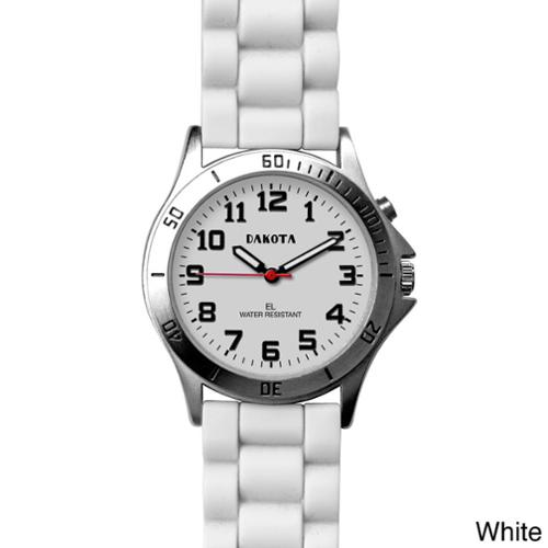 Dakota Watch Dakota Unisex Color 'Sport E.L.' Watch