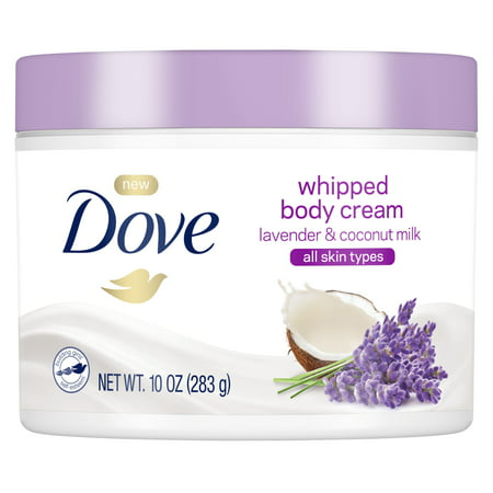 Dove Body Cream Lavender & Coconut Milk 10 oz