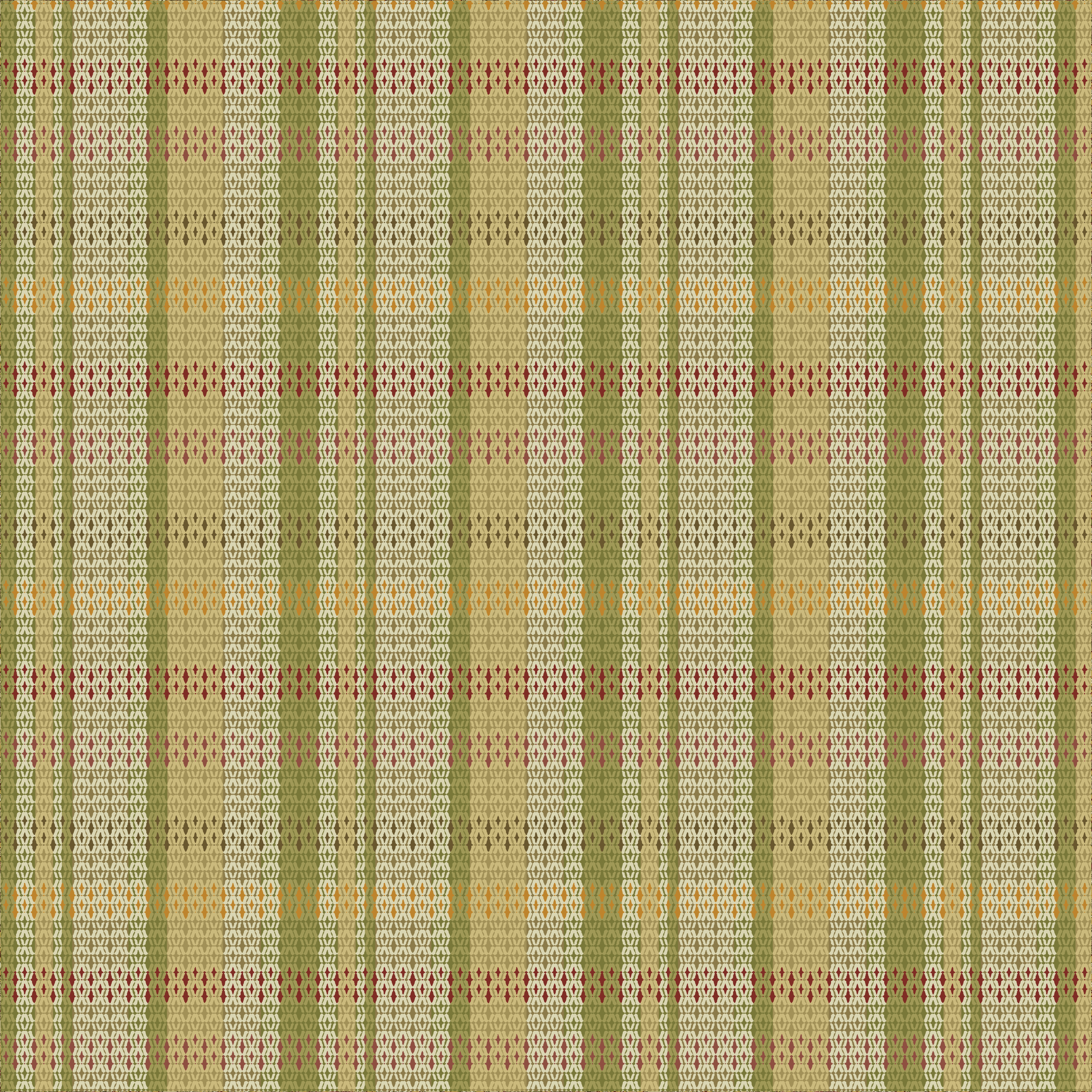 Waverly Inspirations PLAID ANTIQUE 100% Cotton Duck Fabric 45'' Wide, 180 Gsm, Quilt Crafts Cut By The Yard