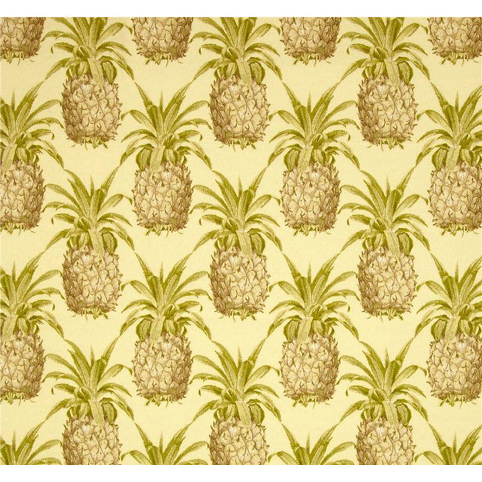 Jordan Manufacturing Outdoor Fabric by the Yard, Pineapple Grove