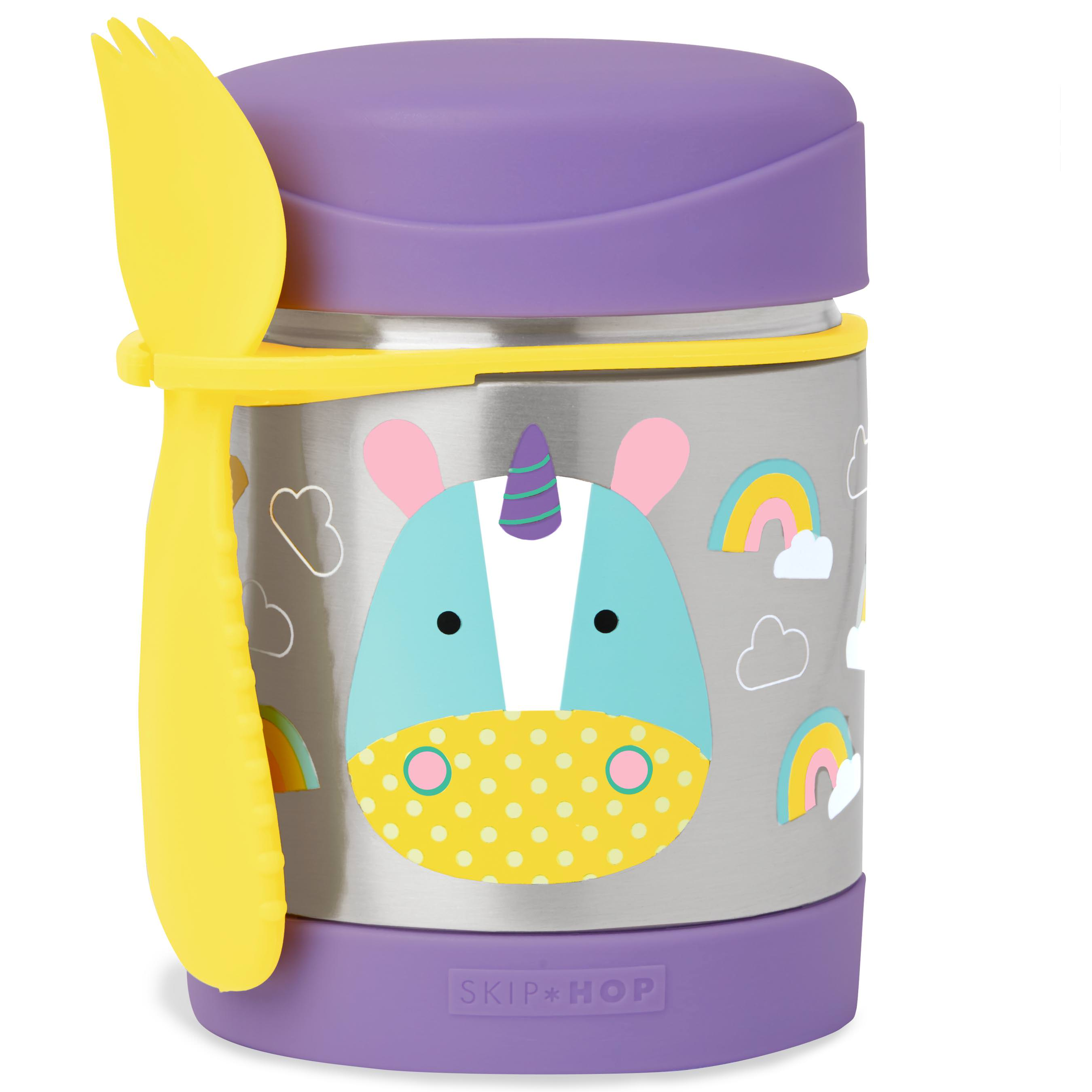 Skip Hop Zoo Insulated Food Jar, Unicorn