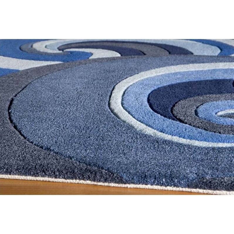 Momeni Lil Mo Hipster 8 X 10 Rug In Surf