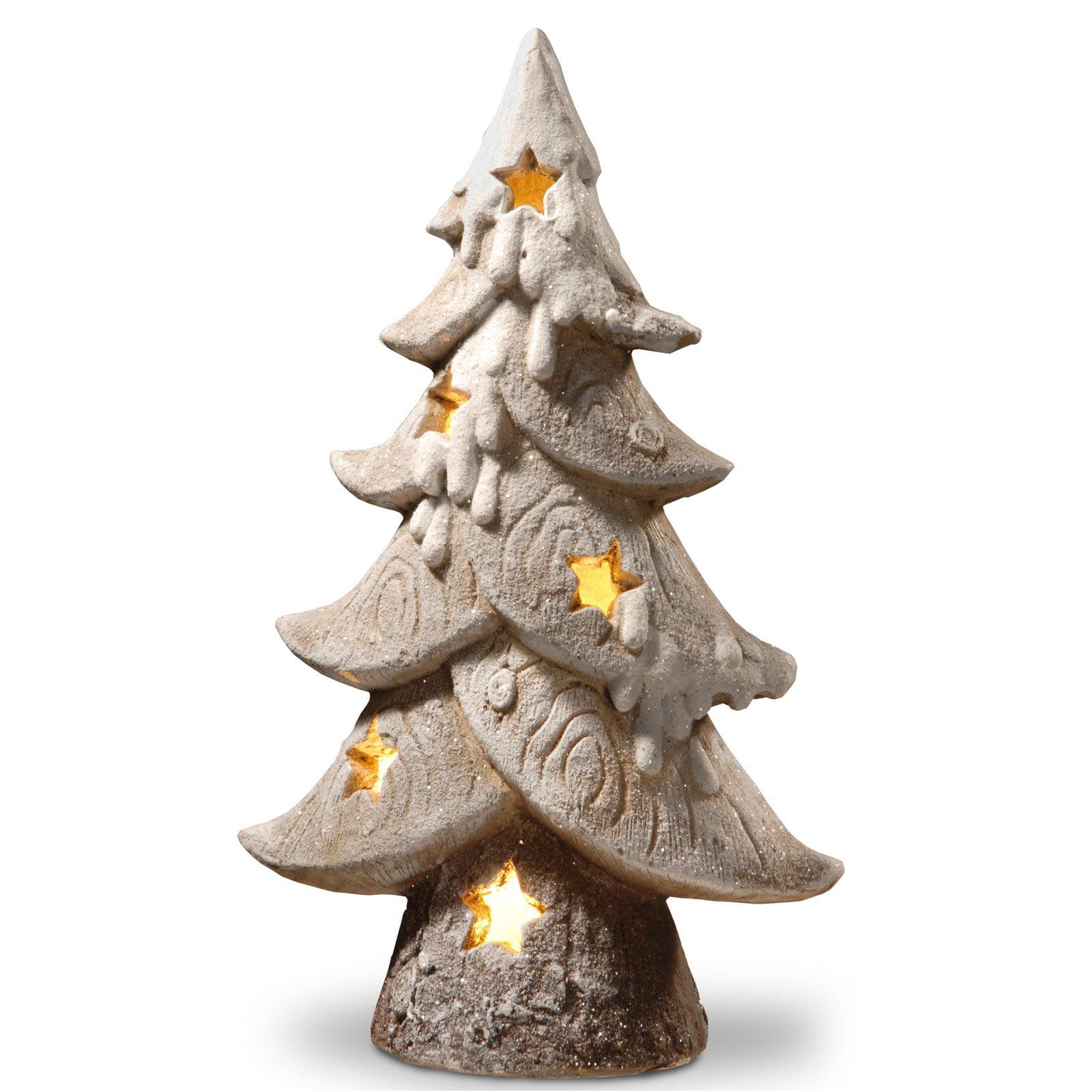 "17"" Lighted Tree Dcor Piece"