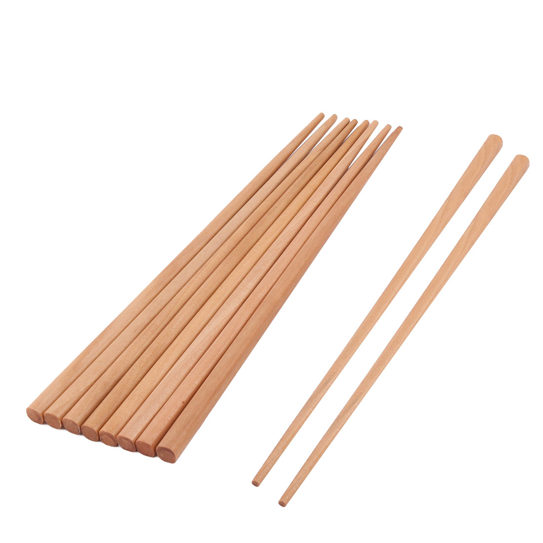 Restaurant Foods Dish Rice Noodles Sushi Serving Chopsticks Wood Color 5 Pairs