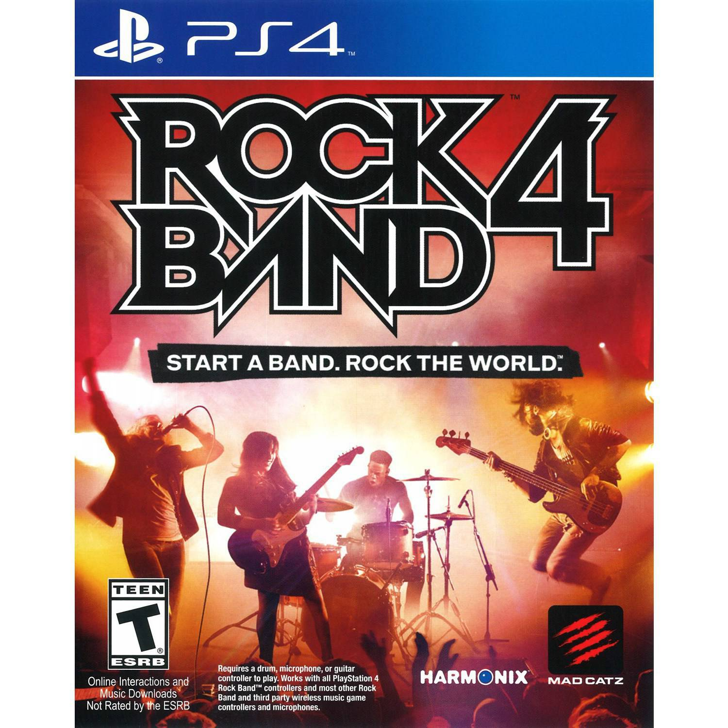 Rock Band 4 Game Only (PS4) - Pre-Owned