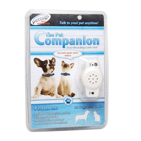 The Pet Companion Voice Recording Collar Unit for Dogs and Cats,