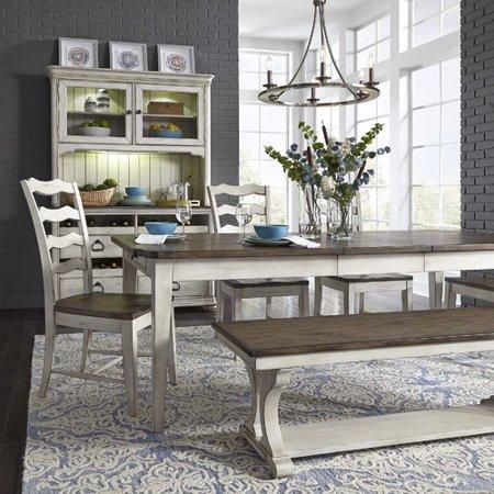 Surprising August Grove Gilbert 6 Piece Extendable Dining Set Ibusinesslaw Wood Chair Design Ideas Ibusinesslaworg