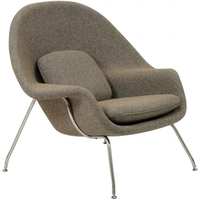 East End Imports EEI-113-OAT W Lounge Chair and Ottoman Set in Oatmeal