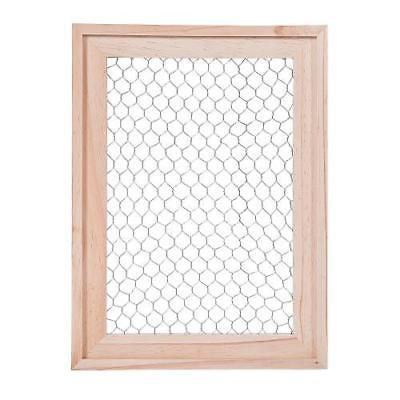 DIY Unfinished Wood Frame with Wire 1 - Unfinished Wood Frame