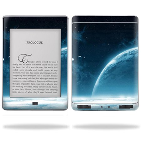Skin Decal Wrap cover for Amazon Kindle Touch Tablet Back Draft (Free Computer Kindle)
