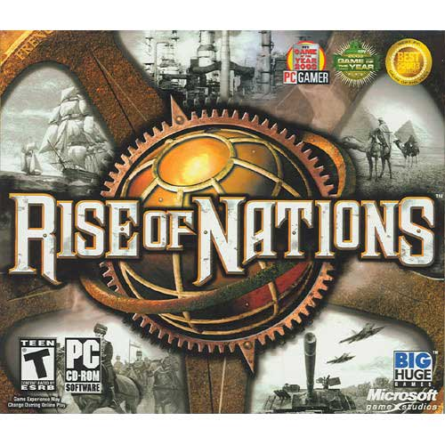 Rise Of Nations Jewel Case Pc Walmart Com Walmart Com