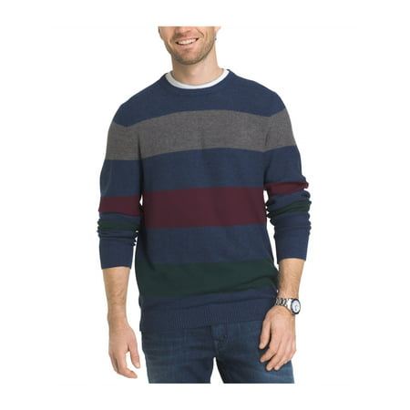 db9716aa837d8c IZOD Mens Durham Stripe Pullover Sweater estatebluehtr 2XL - image 1 of 1  ...