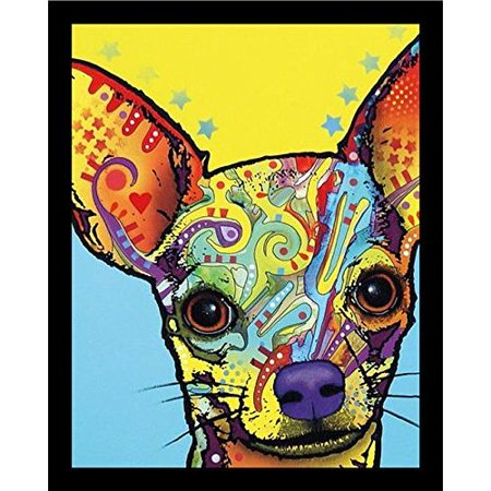 Latitude Run 'Chihuahua' Framed Graphic Art on Canvas Print