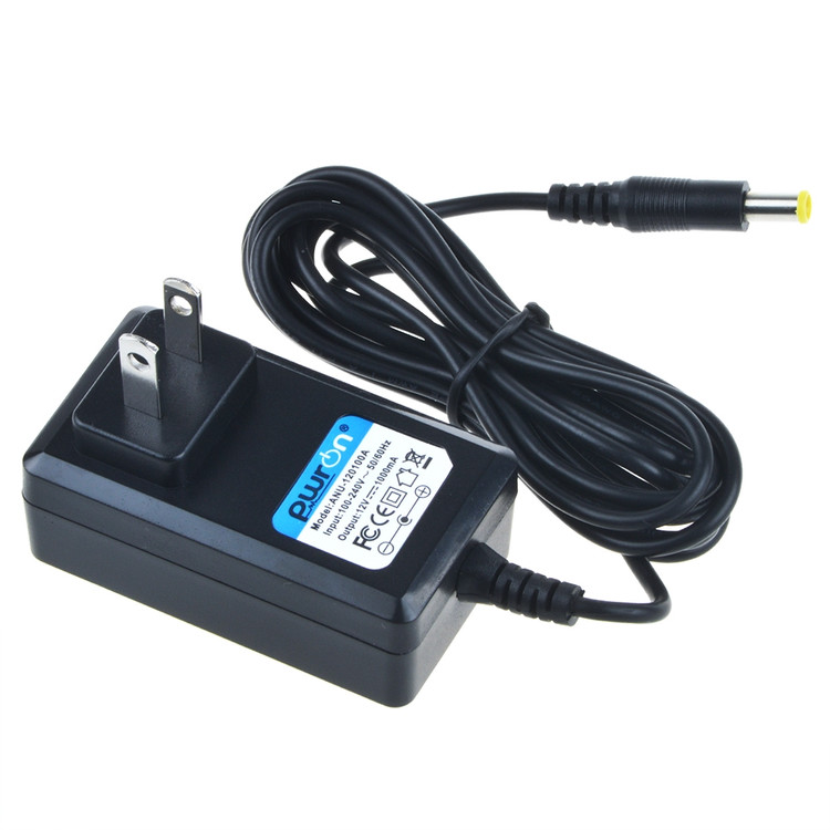 PwrON 6.6 FT Long AC to DC Adapter For Omron CompAir Compressor Nebullizer Comp A-I-R Kids NE-C801 NEC801 NE-C801KD NEC801KD NE-C801LA NEC801LA NE-C801S NE-C801S-KDE