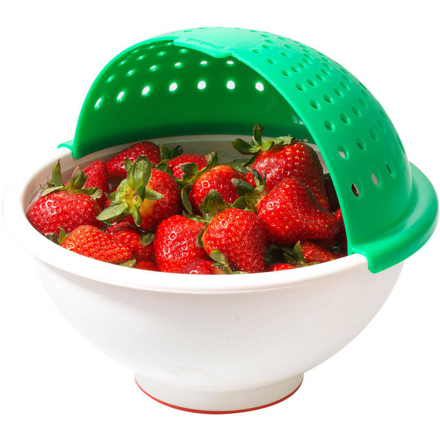 "Good Cook ""Bowlander"" Soak and Strain Colander, Color May Vary"