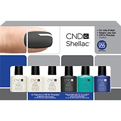 Creative Nail Design Shellac 6-Piece Collection
