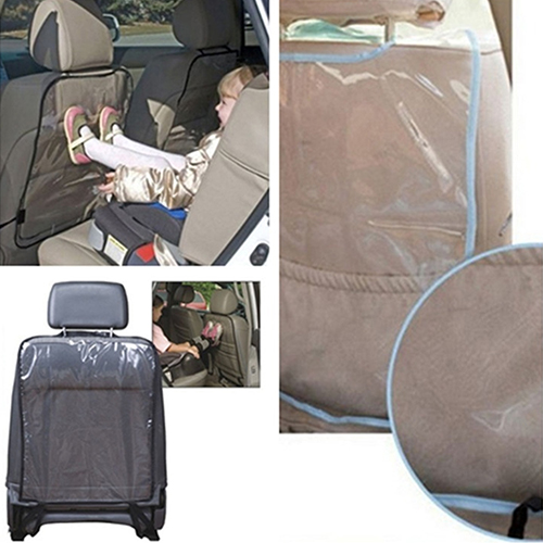 Girl12Queen Car Auto Seat Back Protector Cover for Children Kick Mat Mud Clean Accessories