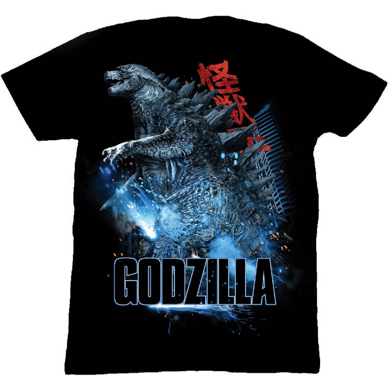 Big Men's Godzilla Graphic Tee